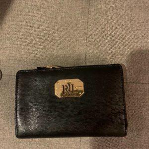 Lauren Ralph Lauren black leather wallet